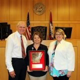 2017 Clerk of Year – Vickie Asher